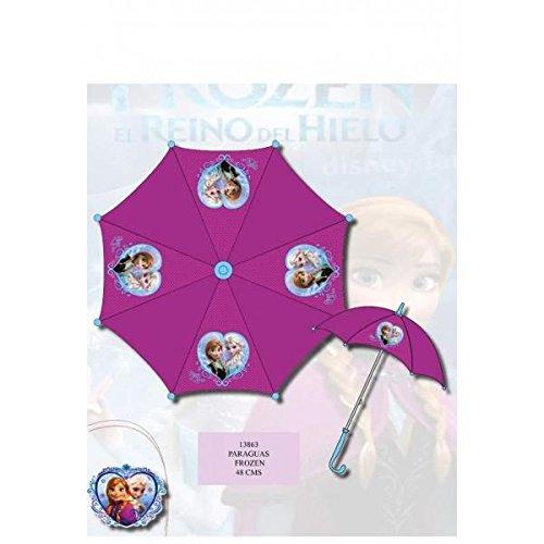 Paraguas Disney Frozen Automático 48 cm
