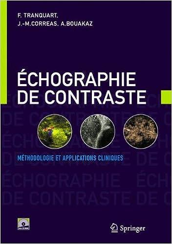 Livre gratuits en ligne Echographie de contraste. : Méthodologie et applications cliniques epub pdf