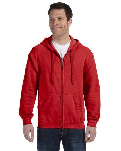 Gildan Heavy Blend Unisex Adult Full Zip Hooded Sweatshirt Top (XL) ()