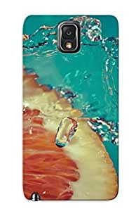 Hot SKlhqEf345bcDOU Case Cover Protector For Galaxy Note 3- Orange And Water / Special Gift For Lovers