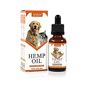 SEVICH Hemp Oil for Dogs & Cats, Pet Hemp Oil,...