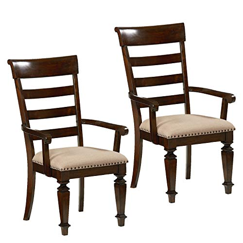 Standard Furniture 16725 Charleston Arm Chair 2-Pack Brown ()