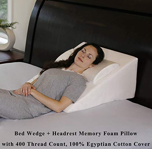 - InteVision Foam Bed Wedge Pillow (25