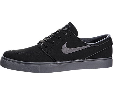 Nike Sb Men's Zoom Stefan Janoski Nb Black/dark Grey/gm Light Brown Skate Shoe