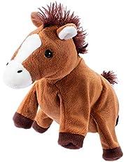 Beleduc 40121 - Handpop paard, bewezen op de kleuterschool