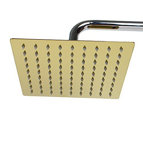 20cm rain shower shower shower head shower head (gold01) Soytich
