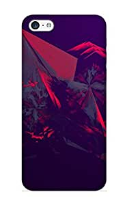 Appearance Snap-on Case Designed For Iphone 5c- Abstract Facets(best Gifts For Lovers)