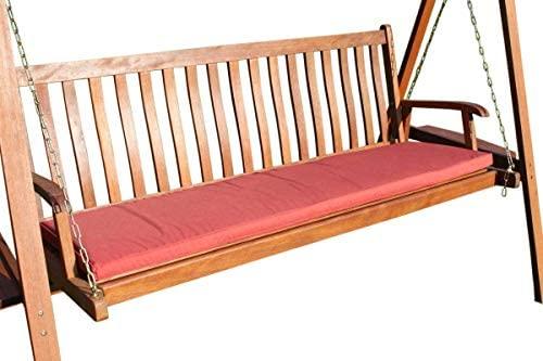 Cojín para muebles de jardín - Cojín para banco grande de ...