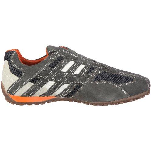 Geox Grey off Uomo White Dk Sneaker rqTzxtr