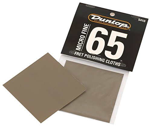 - Dunlop 5410 Micro Fret Polishing Cloth, 2/Bg
