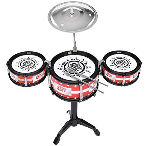 Acecor Kids Drum Set Musical Instrument Toy Children Interactive Toys Musical Instruments from Acecor