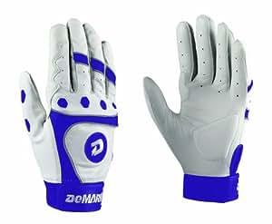 DeMarini Fastpitch CF3 Adult Batting Gloves (Purple, X-Large)