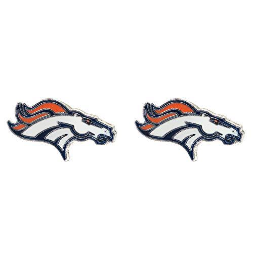 NFL Denver Broncos Team Post Earrings