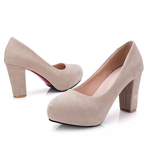 Bureau Pompes Glissement Coolcept Chaussures Les Femmes Abricot Talons Sur Les Classique 5Ywx4zE5q