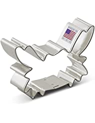 Ann Clark Crab Cookie Cutter - 3.5 Inches - Tin Plated Steel