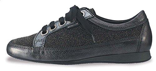 Mephisto Women's Bretta Flat,Platinum Sophia/Dark Grey Ceylan/Steel Crinkle Patent,7 M (Dark Grey Patent Footwear)