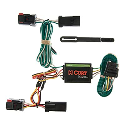 CURT 55334 Vehicle-Side Custom 4-Pin Trailer Wiring Harness for Select Dodge, Chrysler, Plymouth Vehicles: Automotive