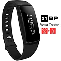 Aupalla 21BP Smart band Activity Tracker With Heart Rate Monitor (Black)