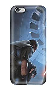 High Grade Matt L Morrow Flexible Tpu Case For Iphone 6 Plus - Star Wars Darth Vador