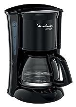 Moulinex Principio FG152832 - Cafetera de filtro, 6 tazas, función auto apagado, 600 W, 6 tazas