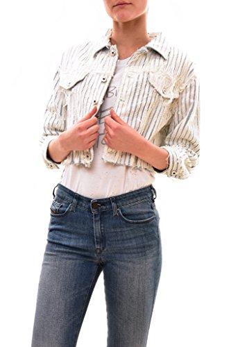 Diesel Women's Authentic De-Sy Giancca Jacket Multi Size (Authentic Pink Ladies Jacket)