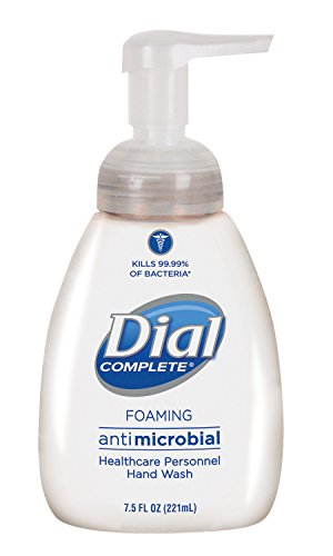 Dial Complete 81075 Healthcare Antimicrobial Foaming Hand Wash with Lotion, 7.5 oz Tabletop Pump (Case of ()