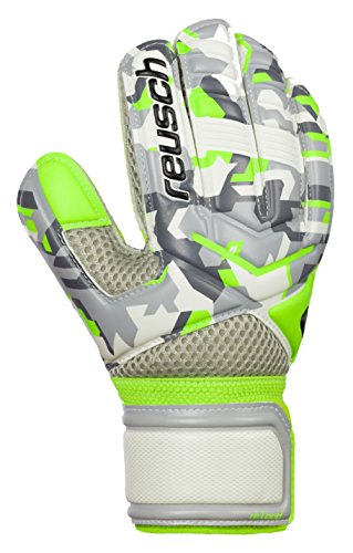 Reusch Re: Load Junior Goalkeeper Glove, Camo, 4
