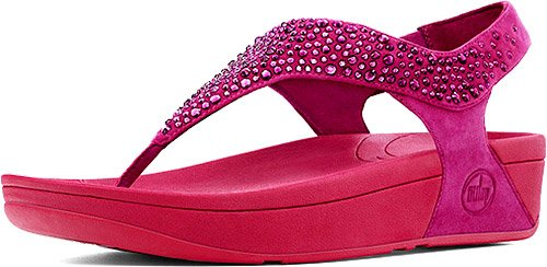 FitFlop Women's Suisei Slingback Sandal,Rio Pink,11 M US