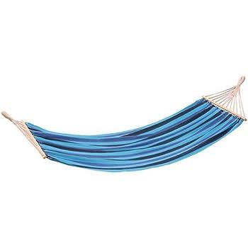 stansport bahamas single cotton hammock  blue  amazon    stansport bahamas single cotton hammock  blue   sports      rh   amazon