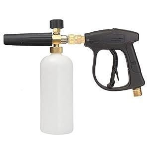 MATCC Foam Wash Gun 3000 PSI High Pressure Washer W/1L Snow Foam Lance Bottle Car Cleaning