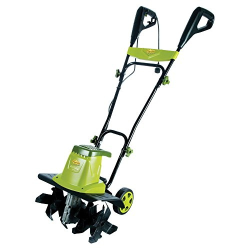 New Sun Joe Electric Tiller with Wheels