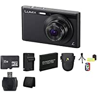 Panasonic Lumix DMC-XS1 16.1 MP Digital Camera (Black) Bundle 3