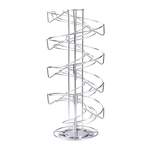 NEW Spiral 30 Capsule Coffee Pod Holder Tower Rotate Stand Storage Rack by barebear70