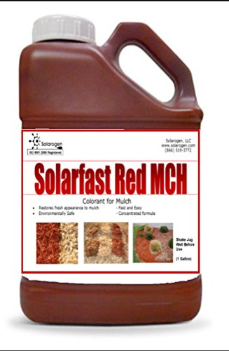 Solarfast Red Mulch Paint- 10,000 Sq.ft by Solarfast