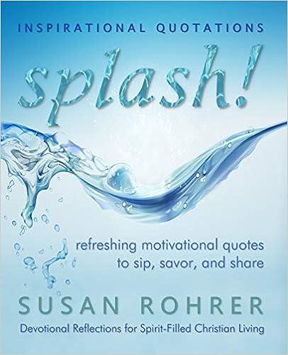 Amazoncom Splash Inspirational Quotations Refreshing