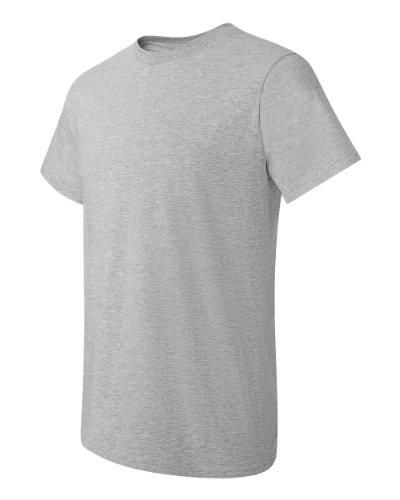 Steel shirt Homme Hanes T Gris Light q1wXxp4A