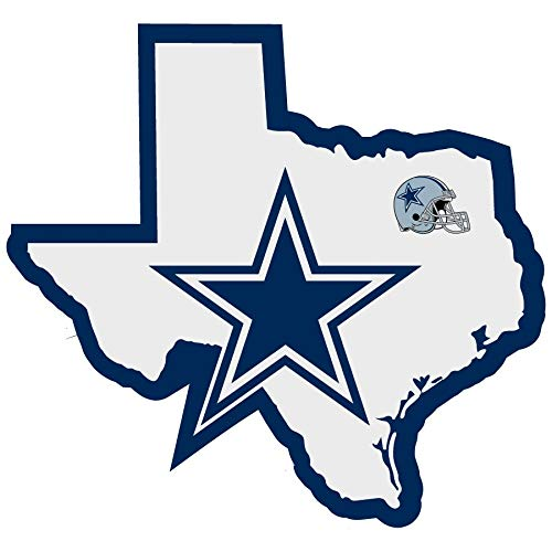 NFL Dallas Cowboys Home State Decal, 5
