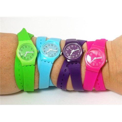 Swatch damenuhr langes band