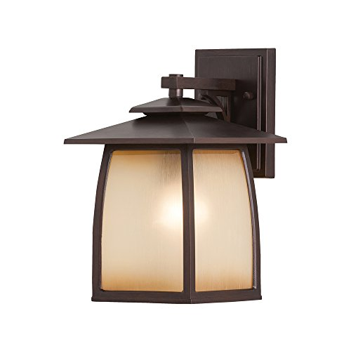 Murray Feiss OL8501SBR Home Solutions Wright House 1-Light Outdoor Lantern (Porch Lights Cottage)
