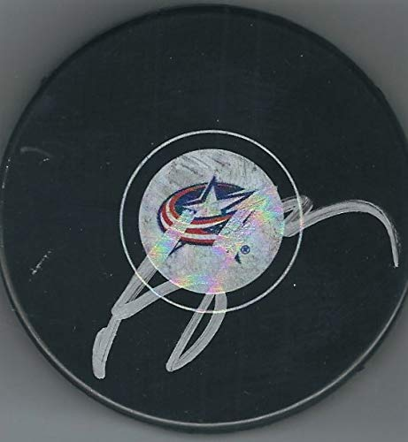 Autographed Brandon Dubinsky Columbus Blue Jackets Hockey Puck