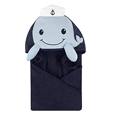 Little Treasure Animal Face Hooded Towel