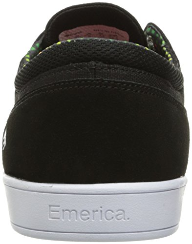 Emerica The Figueroa, Color: Black/Yellow/Black, Size: 43 EU