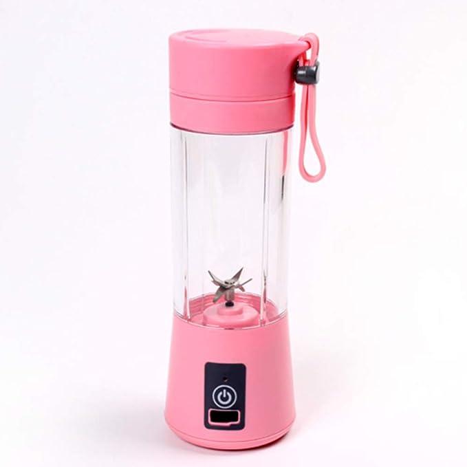 Licuadora USB Exprimidor Cuchillas Para Botellas Portátiles ...