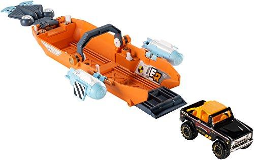 Matchbox Elite Rescue Turbo Canoe Vehicle