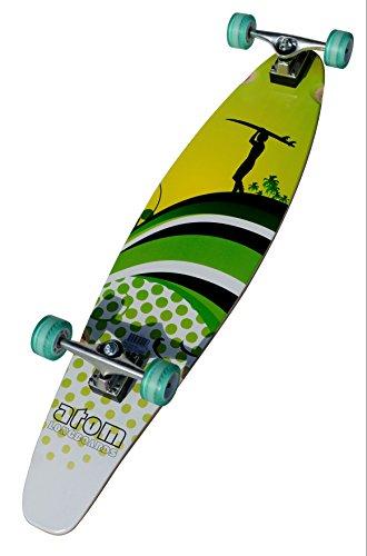 Atom Kicktail Longboard - Kicktail Longboard Skateboard