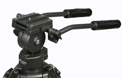 Professional 75mm Video Camera Tripod with Fluid Drag Head FT9901 by Fancierstudio
