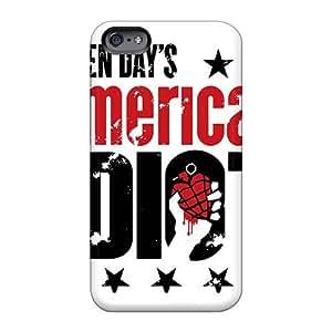 ElijahFenn Apple Iphone 6plus High Quality Hard Phone Cases Unique Design Nice Green Day Band Pattern [Wur5638OXvw]