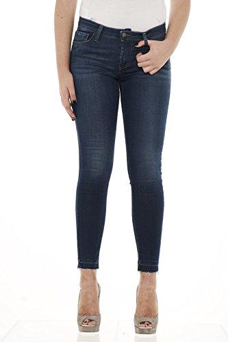 Donna Denim Jeans Woman Stretch Roger's Roy Blu Super Cut Cate Frick wnqxz7fp4W