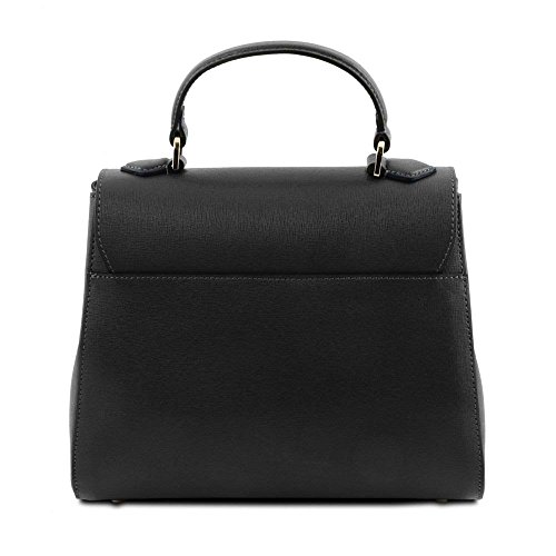Shoulder Tuscany Tl141628 Leather Size Bag Black Women's One rqqtBwR7