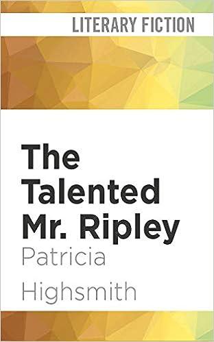 d6ffa0d4f18 The Talented Mr. Ripley  Patricia Highsmith